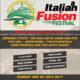 Italian Fusion Festival Flyer