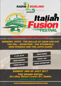 Italian Fusion Festival Poster